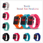 LED Digital Screen Wrist Sport Watch For Men Women Unisex Boys Girls Kids Gift image