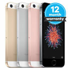 Apple iPhone SE 16GB/32GB Factory Unlocked Smartphone iOS Grey Pink Gold Silver