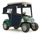 EZGO TXT Golf Cart PRO-TOURING Sunbrella Track Enclosure - Navy