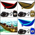Double Hammock Parachute Camping  Beach Double Nest Traveler Camping  Portable