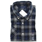Tommy Hilfiger Mens Classic Fit Short Sleeve Cotton Button Down Casual Shirt