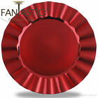 Fantastic:)™ Round 13Inch Charger Plate With Shinny Finish ( Wave Pattern )