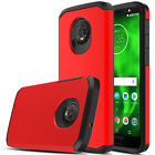 For Motorola Moto G6 Case Shockproof Armor TPU+PC Dual Layer Hard Phone Cover