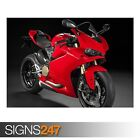 DUCATI 1299 PANIGALE (AE177) - Photo Picture Poster Print Art A0 A1 A2 A3 A4