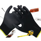24 x Pairs Work Gloves PU Palm Coated Safety Builders Mechanics Construction Hot