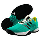 adidas Barricade 2018 NEW Men's Tennis Shoes Racquet Aqua Green NWT Shoe AH2091
