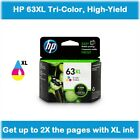 HP 63XL High-Yield Single Ink Cartridge in Box (Black or Color), EXPIRE 2020 !