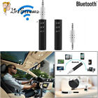 3.5mm Bluetooth Wireless Auto Audio Stereo Musik AUX Empfänger Adapter Mic New