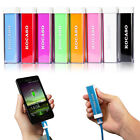 External Portable Power Bank Battery Charger For Mobile Cell Phone 2600mAh
