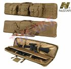 """NcSTAR Tactical 36"""" 42"""" 46"""" 55""""  Padded Double Carbine Rifle Gun Case Bag + GiftCases - 73938"""