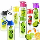 New 700ML Fruit Fusion Infusing Infuser Water Bottle Sports Health Juice maker D