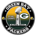 Green Bay Packers Super Bowl Championship Sticker, NFL Decal 8 Different Sizes on eBay