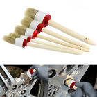 New Soft Car Detailing Brushes for Cleaning Dash Trim Seats Wheels Wood Handle