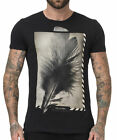 RELIGION Clothing Herren T-Shirt Shirt  FEATHER  Schwarz NEU