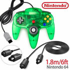 N64 Controller Control Gamepad for Nintendo 64 Video Game Console Jungle Green
