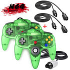 N64 Controller Gamepad Joystick for Nintendo 64 Video Game Console Jungle Green