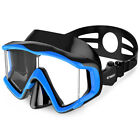 180° Snorkeling Lens Diving, Scuba and Swimming Mask for Adult&Kids Anti-Fog