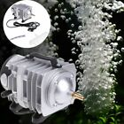 Aquarium Oxygen Pump Electromagnetic Air Compressor Pond Pool Fish Tank Supply