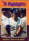 1975 Topps Baseball (Excellent) #1-250 - Your Choice *WE COMBINE S/H