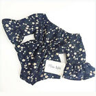 Newborn Baby Girl Floral Romper Jumpsuit Bodysuit Flare Sleeve Clothes Outfits