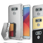 For  LG G6 Luxury Ultra Thin Slim Mirror Back Bumper TPU Silicone Case Cover