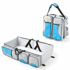 1 Pcs Nappy Shoulder Bag Infant Crib Shoulder Bag Foldable Baby Travel Bed