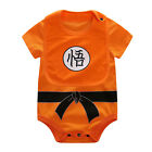 Newborn Baby Boy Girl Dragon Ball Z Clothes Long Sleeve Romper Jumpsuit Bodysuit