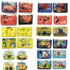 Внешний вид - Mickey Spiderman Pokemon Minions Children Boys Wallet Kids Cartoon Coin Purse