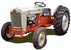 Ford Model NAA Golden Jubilee farm tractor canvas art print by Richard Browne