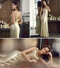 Ever-Pretty Gold Sequins Evening Wedding Dresses Cocktail Party Gown 07110 AU