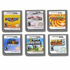 super mario 2ds - 6PCS Super MARIO 64 Party Kart Game Card For NDS NDSL DSI  DSIL 3DS XL 2DS US