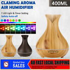 Essential Oil Aroma Aromatherapy Purifier Diffuser Air Humidifier 400ml Light AU