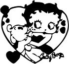 Betty Boop Sticker Vinyl Decal All Colours - Betty017 £3.99 GBP on eBay