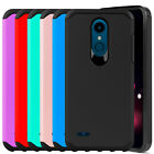 For LG Xpression Plus/K30/K10 2018 Hard Armor Case Cover/Glass Screen Protector