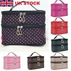 Travel Nail Varnish Beauty Cosmetic Make-up Storage Bag Case Box Handbag Holder