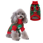 Cute Pet Dog Cat Warm Jumper Knit Sweater Christmas Clothes Puppy Coat Costume