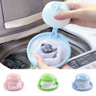 UK Washing Machine Laundry Filter Bag Home Floating Lint Hair Catcher Mesh Pouch