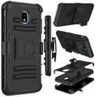 For Samsung Galaxy J3 2018/Orbit/Star/Prime 3 Case Belt Clip Holster Stand Cover