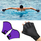 1 Pair Swimming Gloves Aquati Fitness Aqua Fit Paddle Training Fingerless Glove