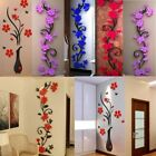 3D DIY Flowers Breastwork Stickers Acrylic Stickers Home Decoration Accessories