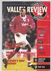 CHARLTON ATHLETIC HOME PROGRAMMES 1995/96 UPDATED 1/5/2018