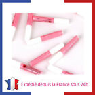 Lot de Colle pour Faux Ongles Tips Capsules 2ml Gel UV et Nail Art Manucure