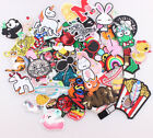 Embroidered Iron On Glue On Patch Sew On Fancy Dress Patches Badges Transfers