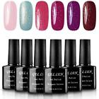 Gellen Gel Nail Polish Set Shimmering Bright Collection 6 Co