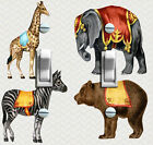 Circus Animals Poster Switch Plate ***FREE SHIPPING***