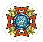 Vfw Veterans Of Foreign Wars Vinyl Decal Sticker Military Armed Forces R359