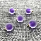 15MM 8Pcs Frosted beads Lovely Pearl Pendant beads Chain Necklace Women Jewelry
