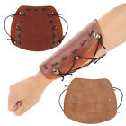 Leather Archery Arm Guard Forearm Protector for Traditonal Bow Hunting Shooting#