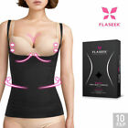 FLASEEK Seekret Open-Bust CAMISOLE Black Seamless Body Shaping Underwear_RC