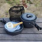 Camping Cookware Lightweight Mess Backpacking Gear Outdoors Cooking Equipments